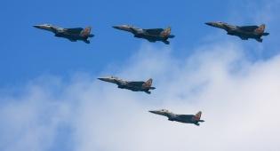 דיווח מטוסי חיל האוויר תקפו מטרות סוריות