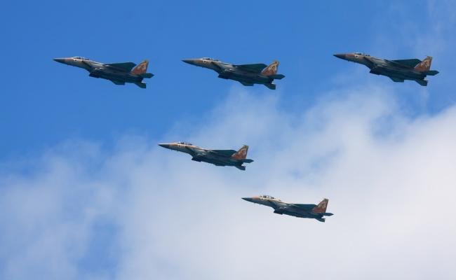 דיווחים בסוריה: מטוסי חיל האוויר תקפו שוב מטרות  סוריות
