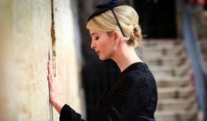 """איוונקה ליד הכותל - """"הטמנתי פתק במקום הקדוש ביותר לאמונה שלי"""""""
