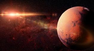 כוכב מאדים.
