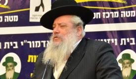 אחרי הרב זר: עתירה חדשה נגד חנוך זייברט