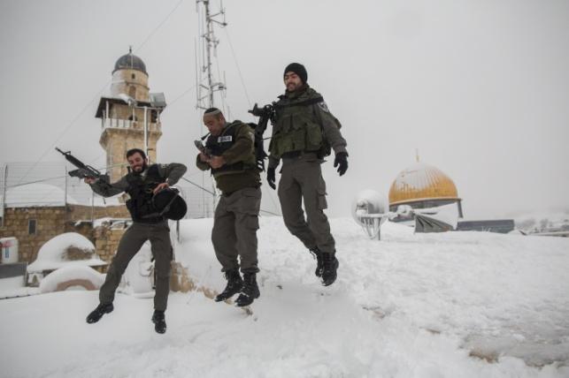 אחרי הסערה: הכבישים לירושלים נפתחו לתנועה