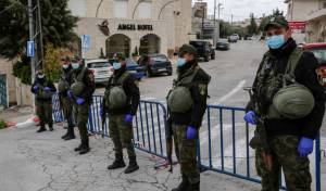 שוטרים פלסטיניים בבית לחם
