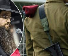 חייל - אילוסטרציה והרב יהודה רבי - תלמיד 'נחלת משה' מעיד: נזרקתי מהישיבה ולכן התגייסתי