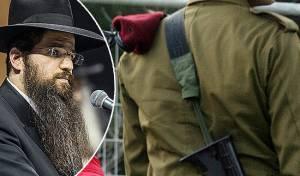 חייל - אילוסטרציה והרב יהודה רבי