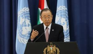 """מזכ""""ל האו""""ם: 'הטרור - בשל הכיבוש הישראלי'"""