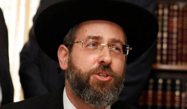 הרב הראשי לישראל דוד לאו
