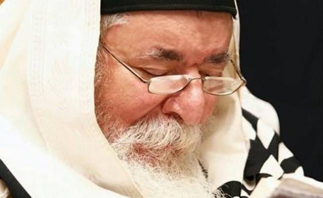 שאו תפילה: המקובל מקרית גת מורדם ומונשם