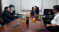 אזולאי והרב קאופמן בפגישה - ישיבות וצבא: אזולאי נועד עם הרב קאופמן