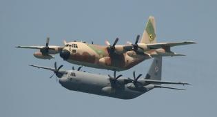 מטוסי ההרקולס במטס יום העצמאות, אתמול