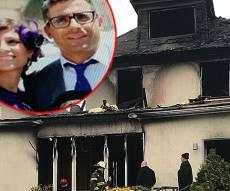"""יוסי ורעייתו ע""""ה על רקע הבית השרוף - יוסף אזן: """"בבקשה, תתפללו על בני דניאל"""""""