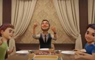 מיכה גמרמן במחרוזת שבת וקליפ אנימציה מרהיב