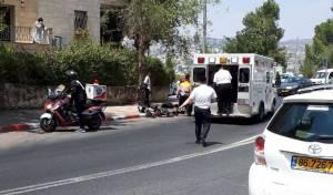 הר נוף: צעיר חרדי נפל מהאופניים ונפצע
