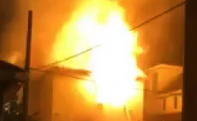 הבית שעלה באש