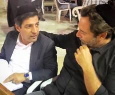 השחקן מוריס כהן בתפילת סליחות בכותל המערבי