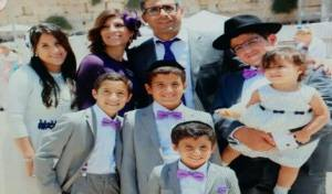 משפחת אזן - היום: עצרת ה'שבעה' על בני משפחת אזן