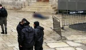 זירת הפיגוע, המחבל המנוטרל - פיגוע דקירה בעיר העתיקה: 2 פצועים קל