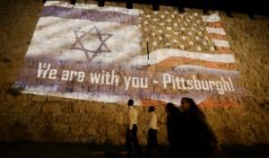 ירושלים מזדהה עם פיטסבורג • צפו בתיעוד