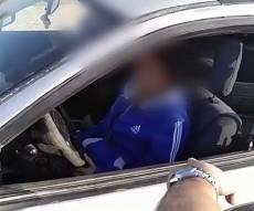 השטרים הופתעו: בת 14 נהגה ברכב • צפו