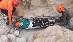 ילד חרדי טייל במדבר - ונזקק לחילוץ • תיעוד