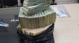 השוטרים הופתעו: מיליון שקל - בשקית זבל