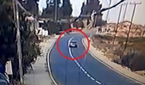 תיעוד מחריד: רגע פיגוע הדריסה בכביש 60