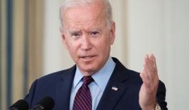 הנשיא ג'ו ביידן בשפל היסטורי בסקרי הקהל