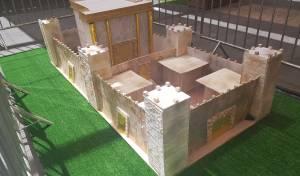 דגם בית המקדש שנבנה. קניון רמות.