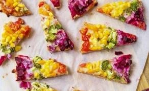 פיצה-פיתה צבעונית שכיף להכין עם הילדים - פיצה-פיתה צבעונית שכיף להכין עם הילדים