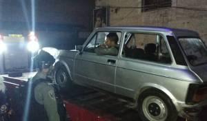 רכב האספנות נגנב ונמצא במחנה שועפאט