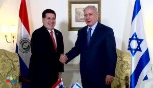 נתניהו והנשיא - נתניהו נועד בארגנטינה עם נשיא פרגוואי