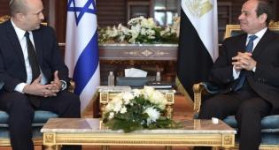 ראש הממשלה והנשיא המצרי