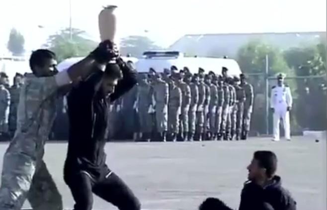ביזיון והשפלה: צפו בלוחמים האיראניים