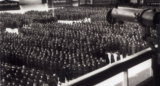 מחנה הריכוז במהלך ספירה