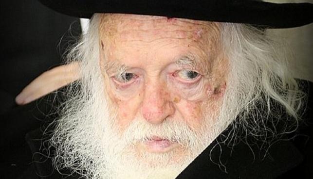 """הרב קנייבסקי: """"אנחנו בחבלי משיח"""""""
