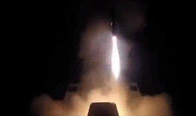 טיל צרפתי ששוגר במתקפה על סוריה