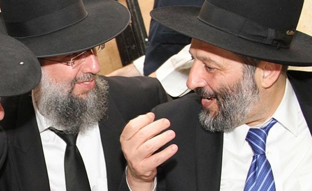 דרעי והרב יעקב כהן. ארכיון