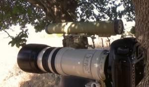 """תמונה שפרסם מחבל חיזבאללה, שכתב: """"מוכנים בעמדה"""""""