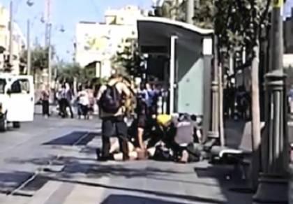 הנטרול הדרמטי של המחבל בתחנה - הורשע המחבל שנתפס עם פצצה במרכז י-ם