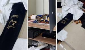 """זעזוע בבית כנסת בב""""ב: אלמונים פרצו וגנבו 4 ספרי תורה"""