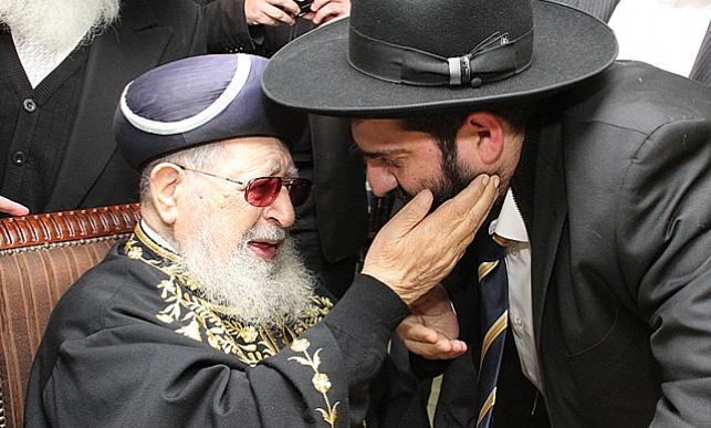 """הרב אייל עמרמי עם מרן זצ""""ל"""