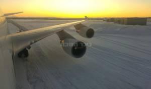 המטוס בקנדה - נחיתת חירום: פרוש וסורוצקין נתקעו בקנדה