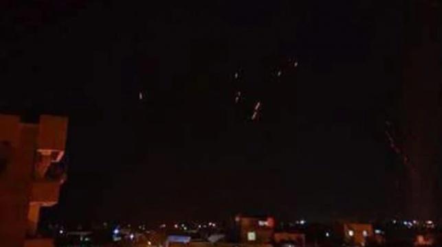 """טילי נ""""מ בשמי סוריה"""