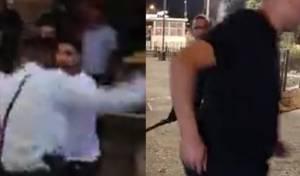 שוטר נחקר לאחר שתקף ערבי בשער שכם