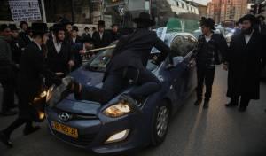 בעיתוי גרוע: קיצונים הפגינו מול לשכת גיוס
