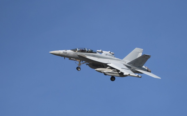 מטוס ה EA-18G Growler