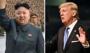 """טראמפ וקים ג'ונג און - צפון קוריאה: """"הפכנו למדינה גרעינית""""; טראמפ: """"נטפל"""""""