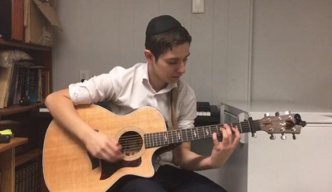 """עילוי הגיטרה """"מכה שנית"""" בקטע מרהיב"""