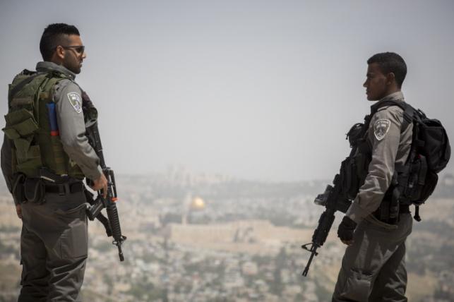 שוטרים במזרח ירושלים. ארכיון