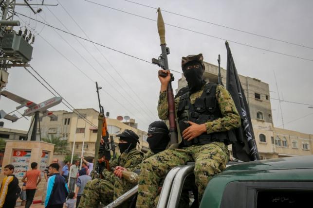 פעילי חמאס בעזה. ארכיון